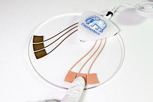 静電タッチセンサー電極