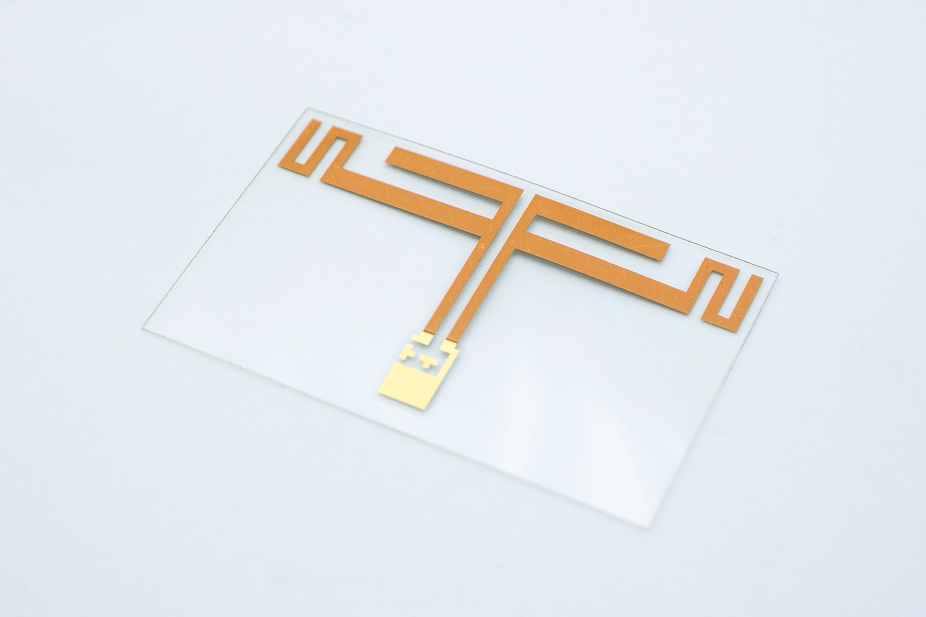 P-Flex® PET で作る平面Wi-Fiアンテナ