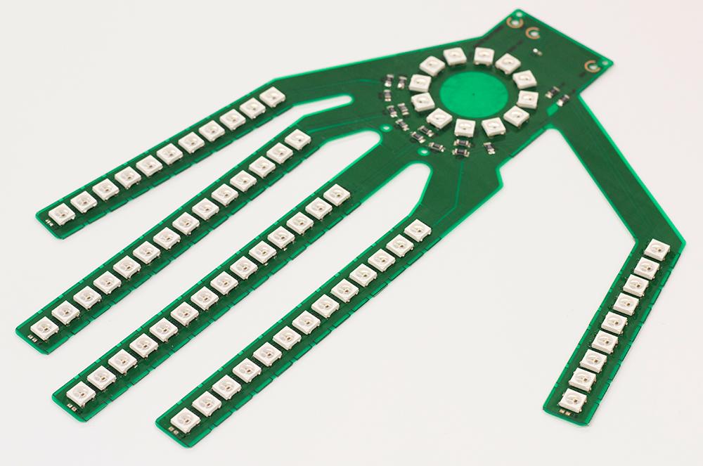groove フレキシブル基板実装例