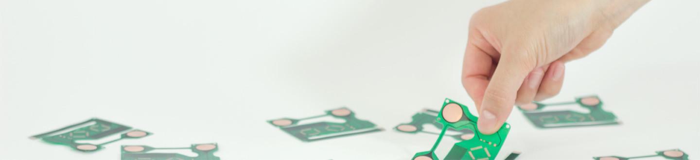 フレキシブル基板(FPC) P-Flex™:型代ゼロ、開発リードタイム短縮、量産品のトータルコスト削減