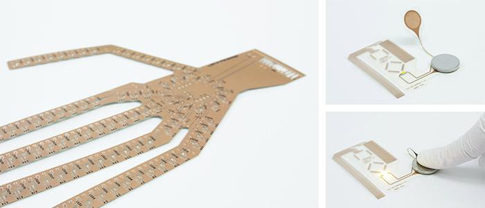 フレキ基板 実際の製造例