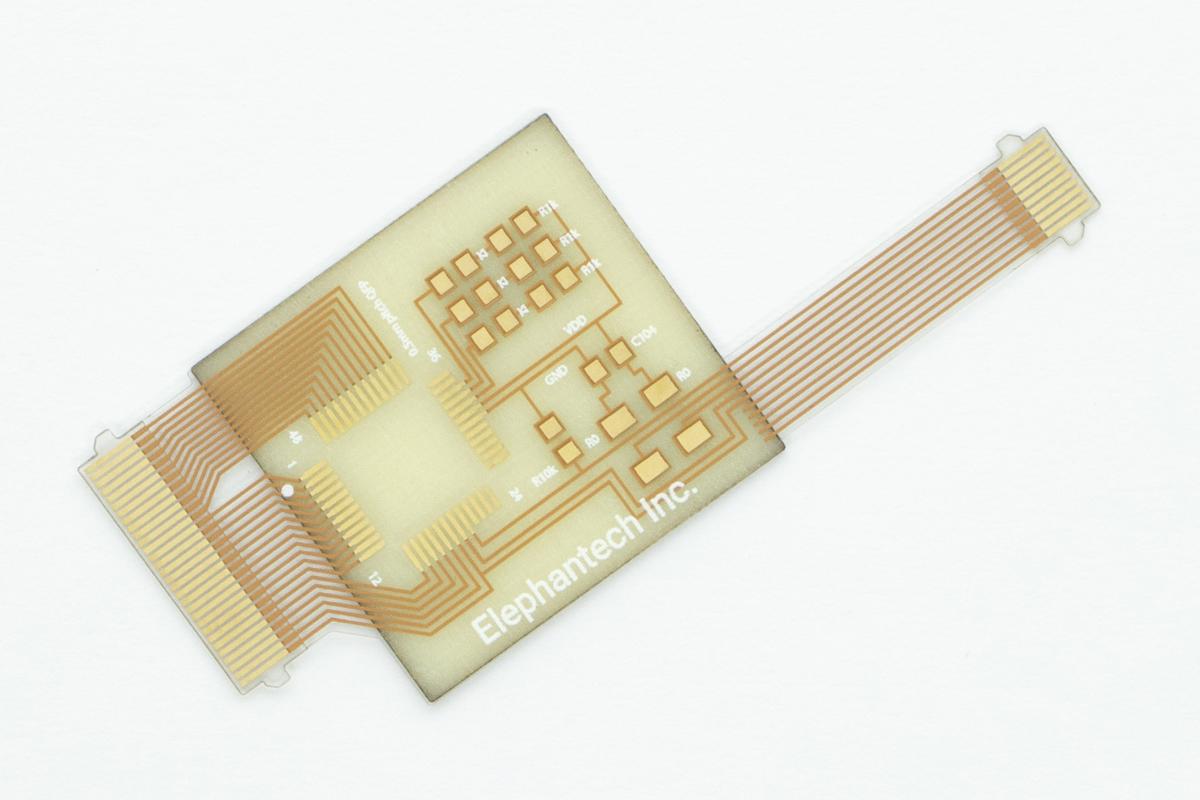 フレキ基板 製造工程 カット