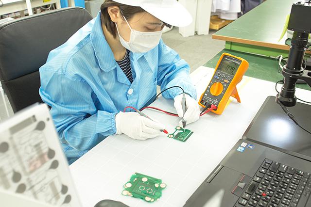 Flex PCB manufacturing process inspection