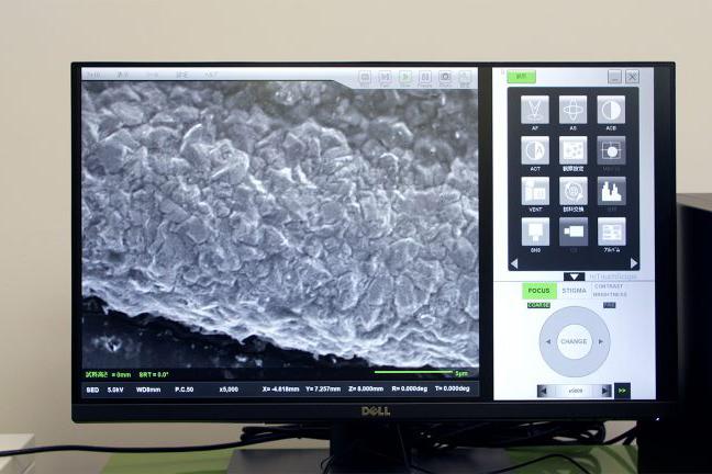 【装置紹介】電子顕微鏡(SEM)